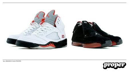 Release Date Reminder: Air Jordan 18 / 5 Countdown Package