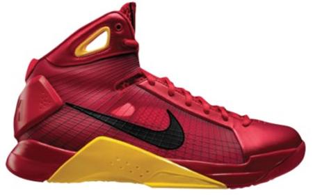 Nike Hyperdunk - China | Sport Red / Black/ Metallic Gold |