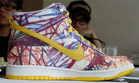 Nike Dunk High - Back to School 2008