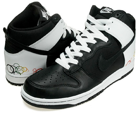 Nike Womens Dunk High - Olympic Octagon
