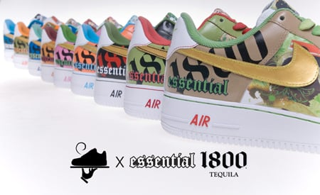 Gourmet Kickz x 1800 Tequila