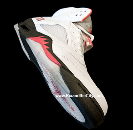 Air Jordan 5 (V) Fire Red Countdown Package