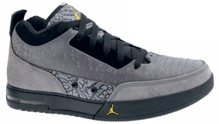 Air Jordan Flipsyde - Cool Grey / Yellow Ochre - Black