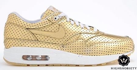 Nike Air Max 1 Olympic Perforated Metal Pack