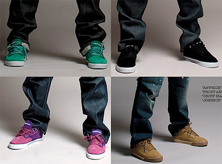 The Hundreds Footwear Fall 08 Preview