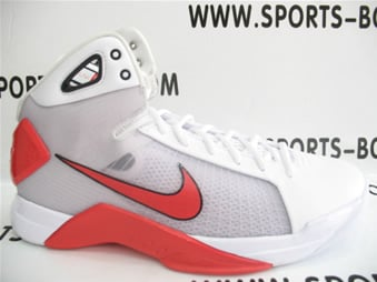 Nike Hyperdunk - White / Infrared