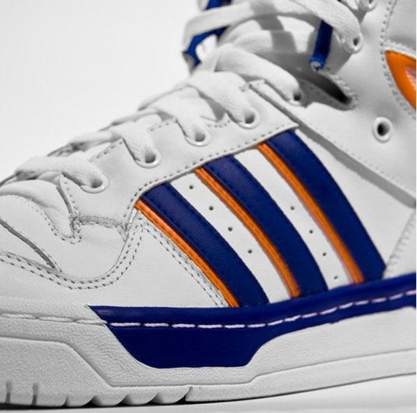 Adidas Attitude High - Running White / Orange / Collegiate Blue
