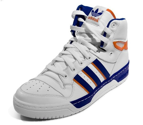 Adidas Attitude High - Running White / Orange / Collegiate Blue