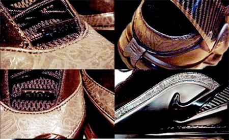 Nike Zoom LeBron VI Sample - Brown Suede