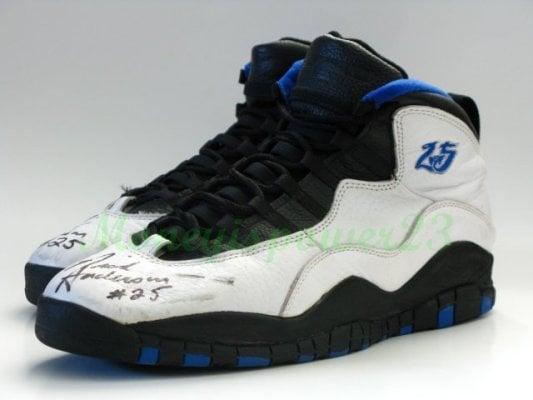 Air Jordan X (10) Nick Anderson PE