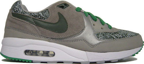 Nike Air Max Light Premium Metallic Silver / Grey / Green at Purchaze