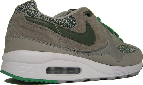 Nike Air Max Light Premium Metallic Silver / Grey / Green at Purchaze