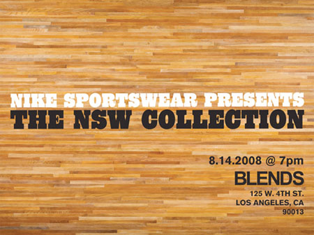 Nike Sportswear Launch At Blends