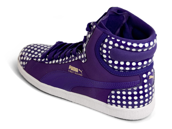 Puma Womens First Round High Polka Dot Pack