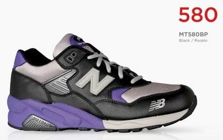 New Balance MT580 - Black / Purple