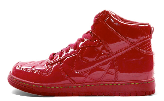 Nike Dunk High Supreme Quilted Patent