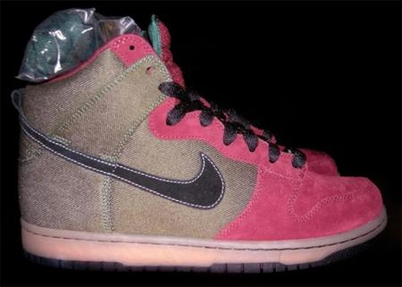Nike Dunk High Pro SB - Forest / Black / Pink