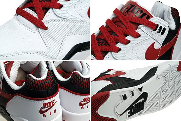 Nike Air Ultra Force Low - White / Red / Black