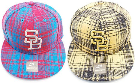 Nike SB Plaid Fitted Caps Fall '08