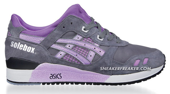 Solebox x Asics Gel Lyte III Commerical