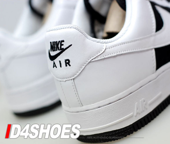 Nike Womens Air Force 1 - Black / White