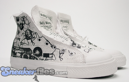 Sully Wong Hip-Hop Tribute Casette Sneaker