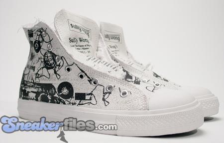 Sully Wong Hip-Hop Tribute Casette Sneaker