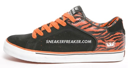 Supra Suprano Low - Black / Orange