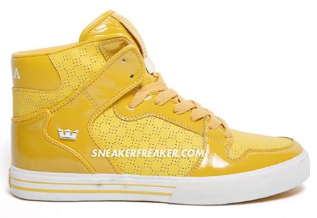 Supra Vaider - Yellow