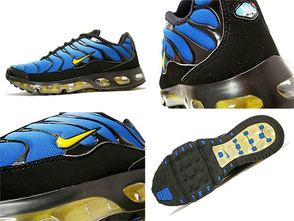 reunirse Indefinido miseria  Nike Air Max TN Plus 360 - University Blue / True Yellow / Black ...