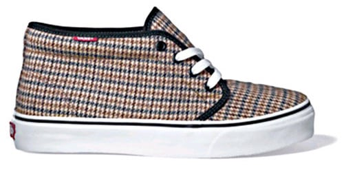 Vans Classics Fall Chukka Tweed Pack Fall 08