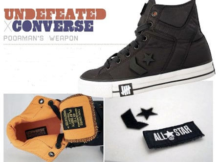 Undefeated x Converse Poormans Weapon