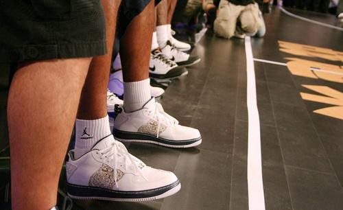 Air Jordan Force Fusion 20 (XX) - White / Navy