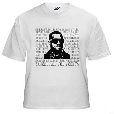J4K Apparel - Where Are You Yeezy? T-Shirt