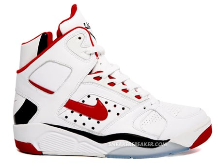 Nike Air Flight Lite High - Red / Black
