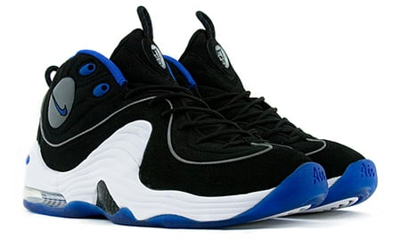 purchase cheap f90f5 38518 Nike Air Penny 2 - Black   Varsity Royal   White