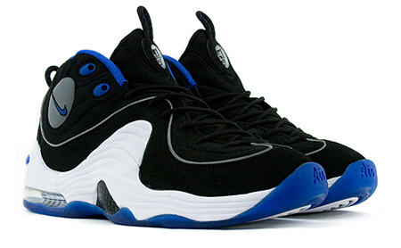 Nike Air Penny 2 - Black / Varsity Royal / White