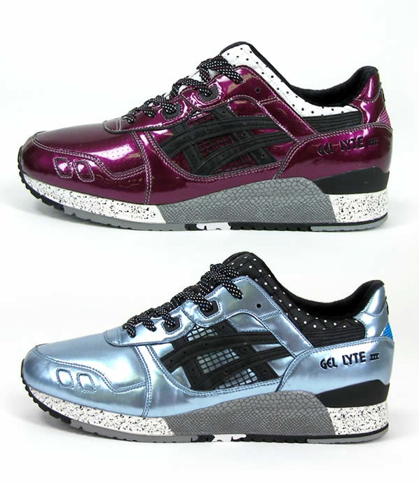 Mita Sneakers x Asics Gel Lyte III - Purple Haze | Blueberry