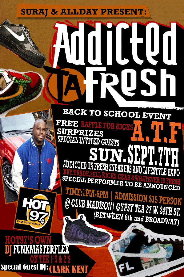 Addicted Ta Fresh Sneaker and Lifestyle Expo