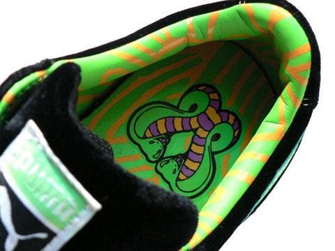 Puma Suede - Blacklight Snake