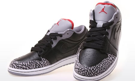 Air Jordan 1 Phat Low - Black   Varsity Red   White   Cement Grey ... 1727bae0ce
