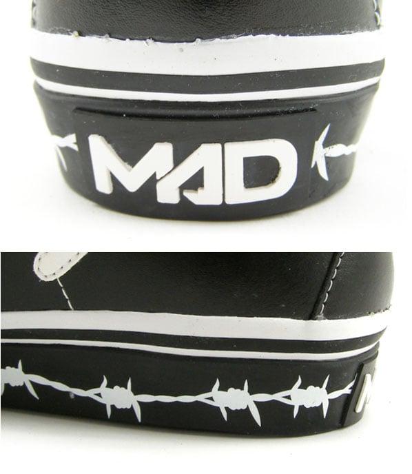 Madfoot! Mad Idolator High - Black / White / Wire