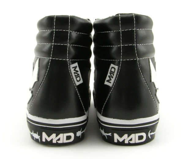 Madfoot! Mad Idolator High - Black / White / Wire