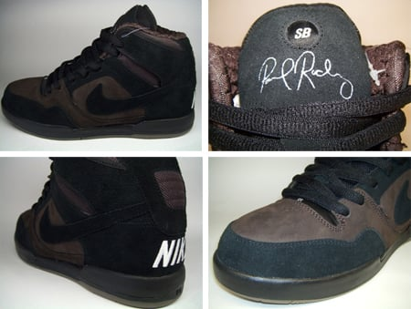 Nike SB P-Rod 2 High Quickstrike - Cappuccino / Black