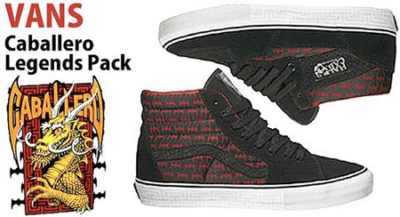 Vans Caballero Legends Pack