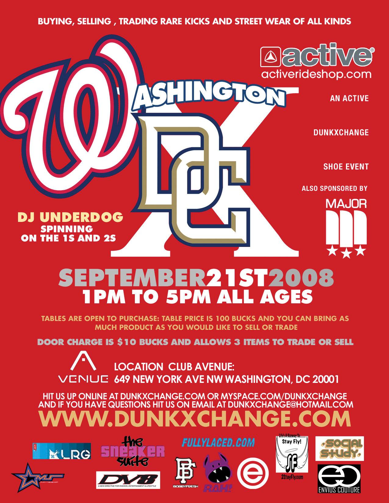 DunkXchange Hits Washington D.C September 21st 2008!