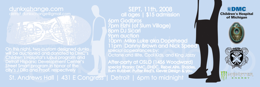 DunkxChange DETROIT Sept 11th