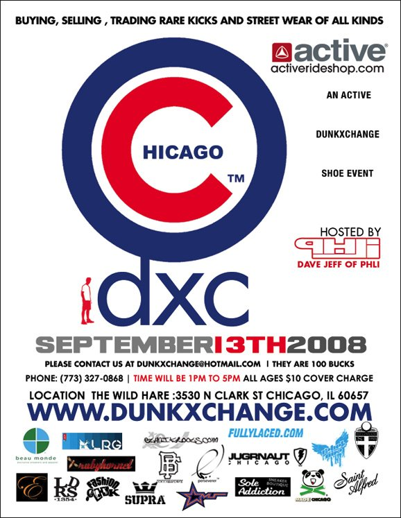 CHICAGO Dunkxchange Tomorrow! Reminder for Sept. 13th!