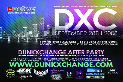 DunkxChange Hits M.I.A!!!