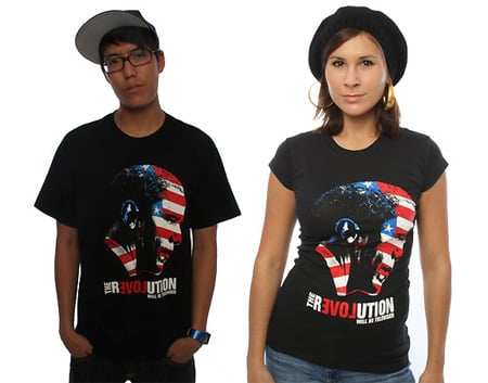 Freshnes Obama Revolution T-Shirt